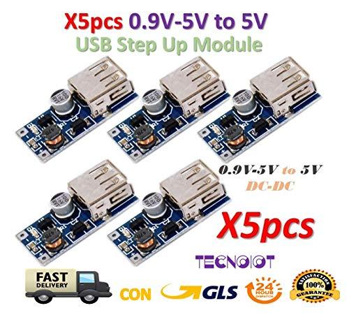 LCD Mini DC Power Supply USB Konverter Modul Adjustable Himbeere pi 5V 2A AIP
